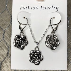 Rose Jewelry Set